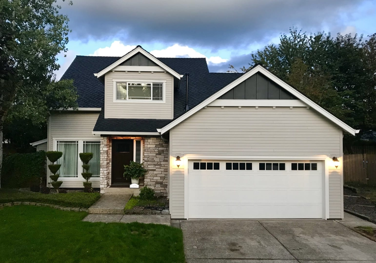 Siding project before and after in portland, after image