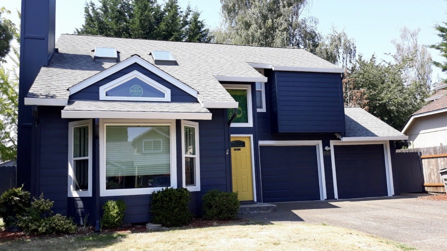 After - James Hardie Lap Siding & Sherwin Williams SuperPaint (NW Portland)
