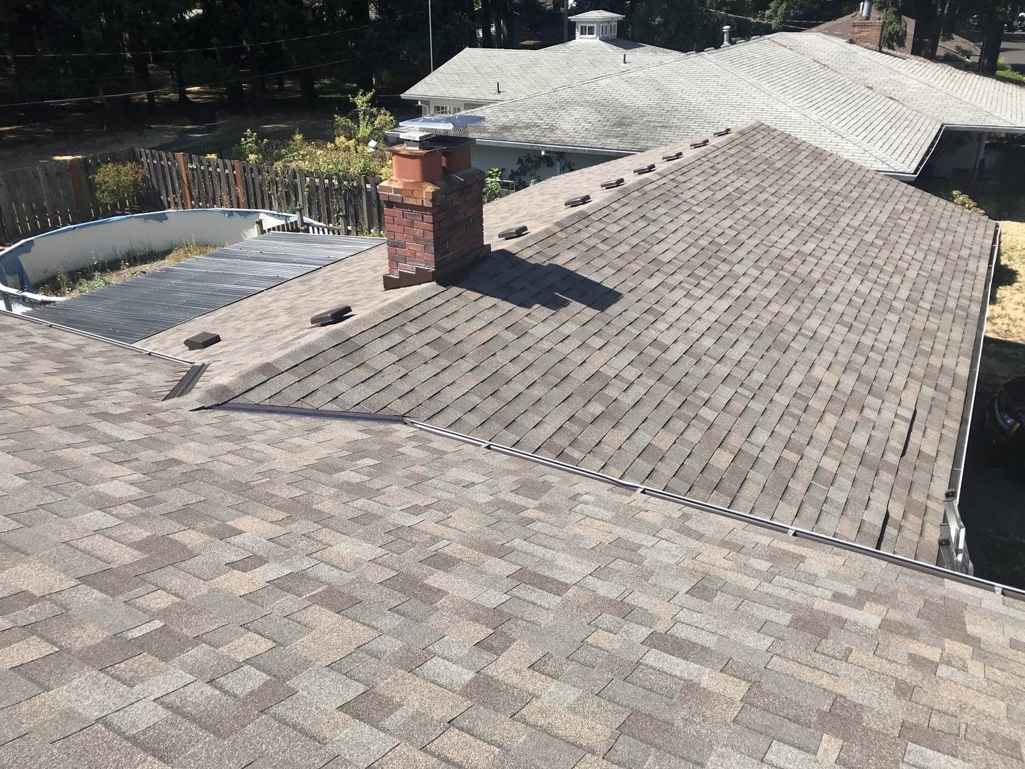 After - New Shingle Roof by KVN