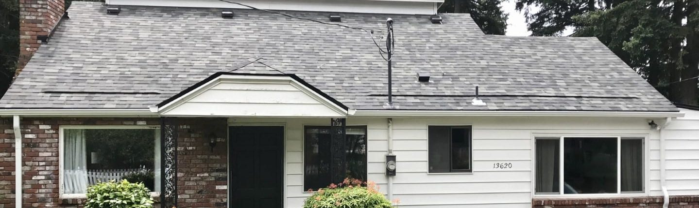 Professional new roof installation in Portland