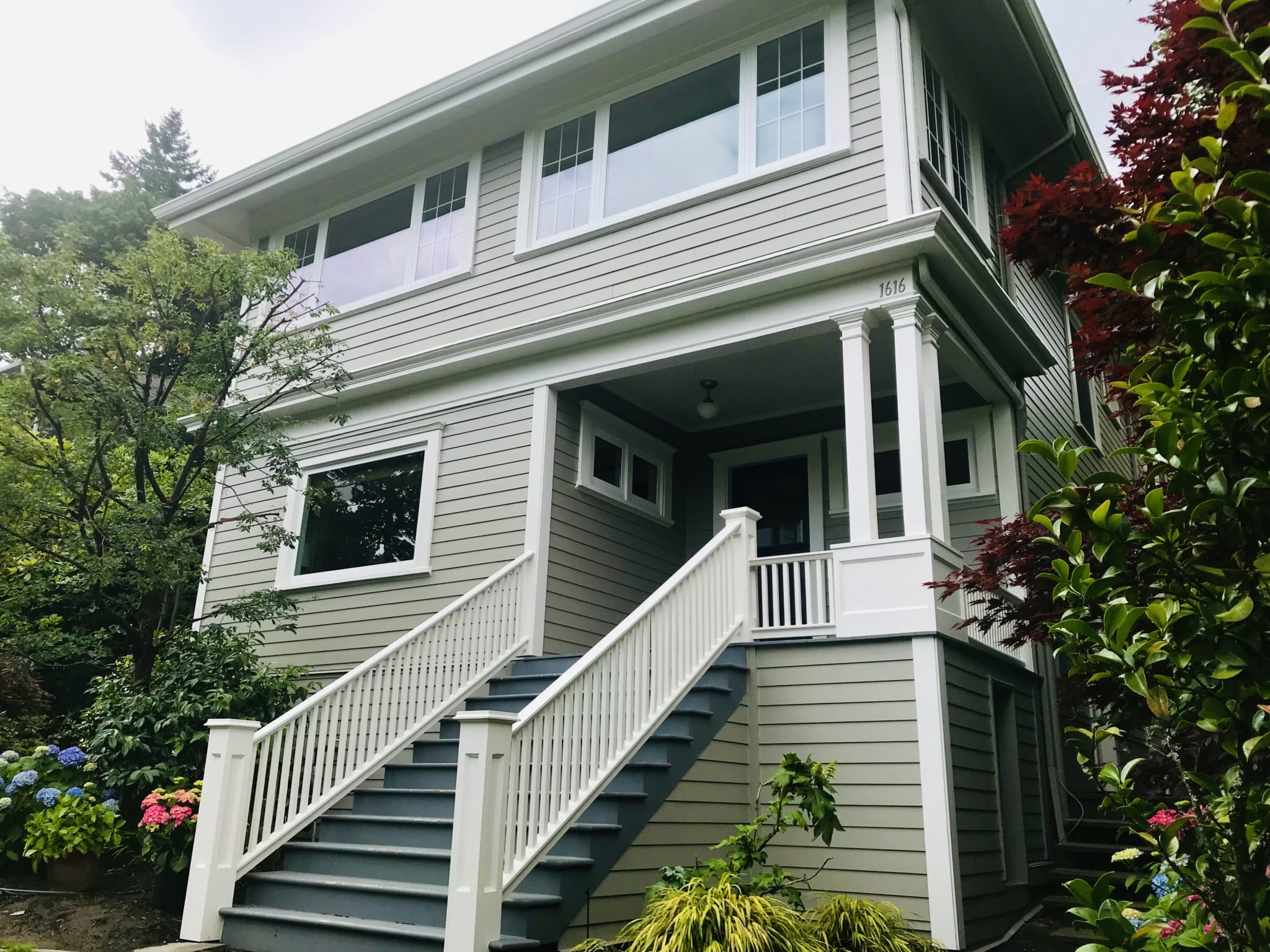 Finished Siding installation in Portland