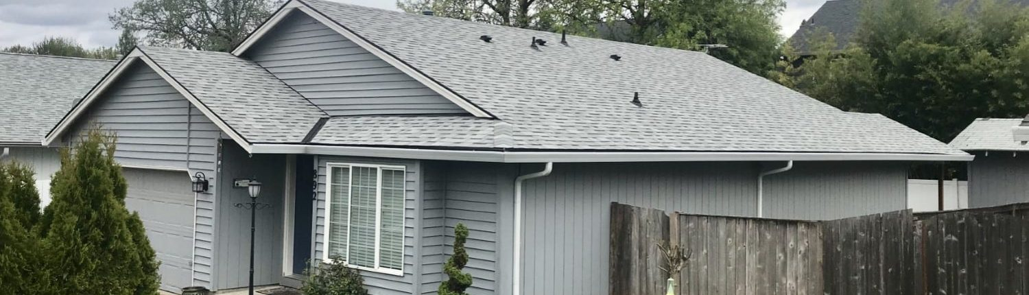 New roof installation with Malarkey Silverwood shingles
