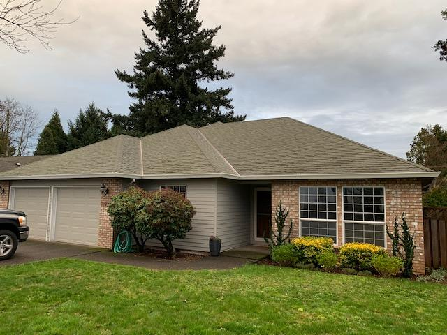 New roof installation in Oregon City before completed