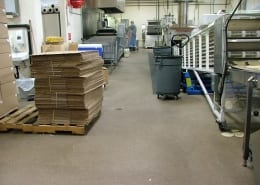 food processing epoxy floors and fiberglass ceiling installation Oregon