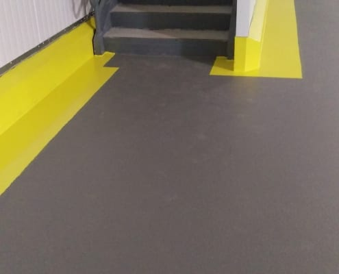 blueberry packing plant epoxy floor installation in Oregon