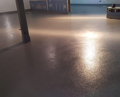 epoxy flooring in portland salt and straw ice cream
