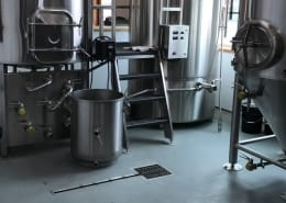 Urethane flooring installation for Brewery in Alaska