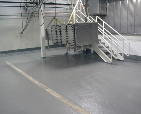 Dairy Farmers of America fiberglass floor installation