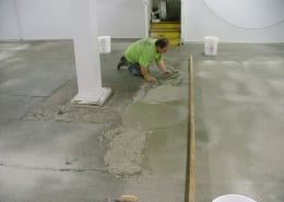 EA Brown winery polyester flooring installation