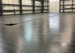 King Street Brewing Urethane Base with epoxy top coat flooring Installation