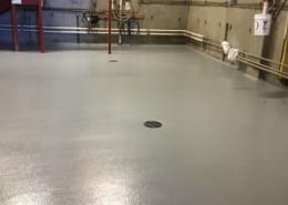 Epoxy flooring install at Ska Brewing in Colorado