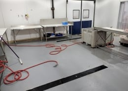Industrial Urethane Flooring Installation After picture in San Fransisco at Four Star Seafood