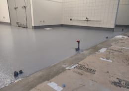 Grocery Store commercial epoxy flooring install in Tualatin