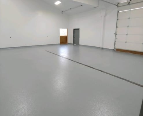 Epoxy flooring installation for CBD production facility in Oregon
