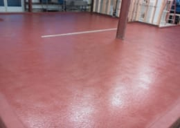 Santa Cruz California brewery epoxy flooring installation