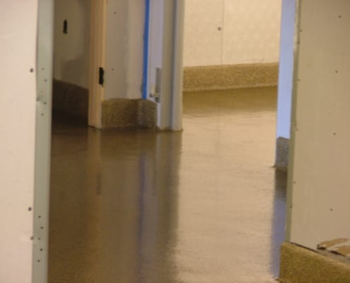 Brewery commercial epoxy flooring installation in California