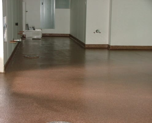 Asian Thai Restaurant commercial epoxy flooring installation in Oregon